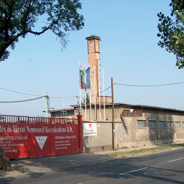 2005 - Rév és Társai Nemesacél Kereskedelmi Kft., Hungary.